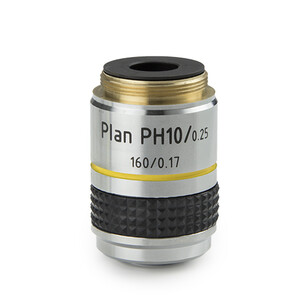 Euromex Objective IS.7710, 10x/0.25, PLPH, plan, phase (iScope)