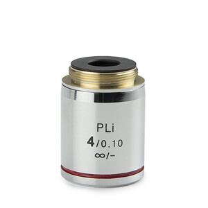 Euromex Objective IS.7204, 4x/0.10, PLi , plan, infinity (iScope)