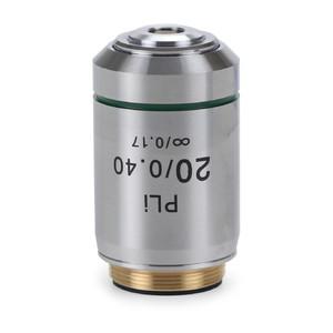 Euromex Obiettivo IS.7220, 20x/0.40, PLi, plan, infinity (iScope)