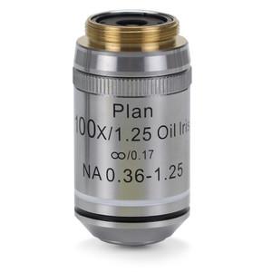 Euromex Obiettivo IS.7200-I, 100x/1.25, PLi , plan, infinity, iris diaphragm, S (iScope)