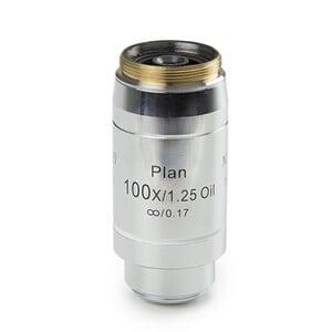 Euromex Obiettivo DX.7200, 100x/1,25, wd 0,2 mm, PLi, plan,  infinity, S oil (DelphiX)