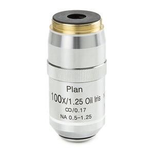 Euromex Obiettivo DX.7200-I, 100x/1,25, wd 0,2 mm, plan infinity, iris diaphragm,  oil, S (DelphiX)