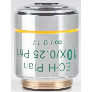 Motic Objective 10X / 0.25,wd 17.4mm, CCIS, EC-H PLPH, e-plan, phase +, infinity (BA410E, BA310)