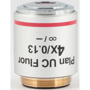 Motic Obiettivo 4X / 0.13, wd 17.3mm, CCIS, PL UC FL, plan, fluo, infinity,  (BA410E, BA310)