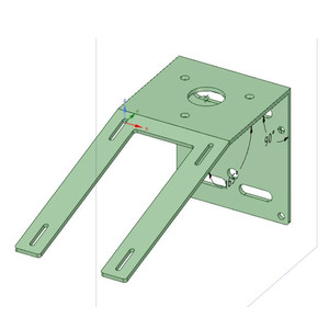 Lunatico Bracket for mounting weather sensor and anemometer