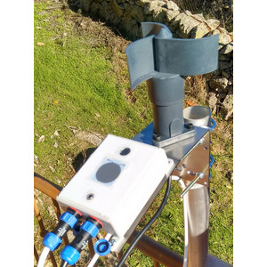 Lunatico Bracket with clamp for mounting weather sensor and anemometer