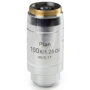 Euromex Obiettivo DX.7200, 100x/1,25 PLi S, plan, infinity, oil, w.d. 0,2 mm (Delphi-X)
