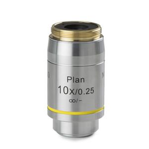 Euromex Obiettivo DX.7210, 10x/0,25 Pli, plan, infinity, w.d. 10,2 mm (Delphi-X)