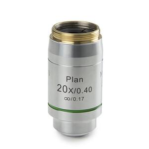 Euromex Obiettivo DX.7220, 20x/0,40 Pli, plan, infinity, w.d. 12 mm (Delphi-X)