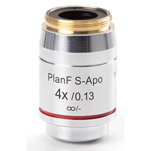 Euromex Obiettivo DX.7304, 4x/0.13 PLFi APO, plan semi-apo, infinity, Fluarex, w.d. 16,5 mm (Delphi-X)