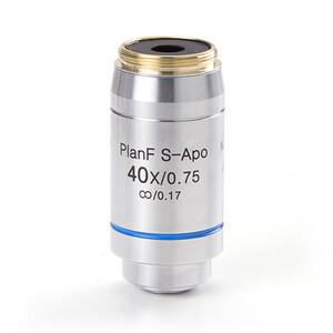 Euromex Obiettivo DX.7340, 40x/0.75 PLFi APO, plan semi-apo, infinity, Fluarex, S, w.d. 0,7 mm (Delphi-X)