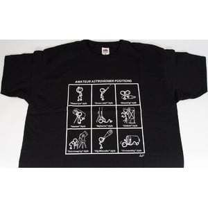 Artesky T-Shirt Amateur Astronomer Positions Size S