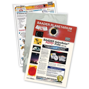 Baader Film filtre solaire AstroSolar Foto OD 3.8 20x29 cm