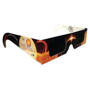 Lunt Solar Systems Sonnenfilter SunSafe Sofi-Brille zur Sonnenfinsternis, 5 Stück