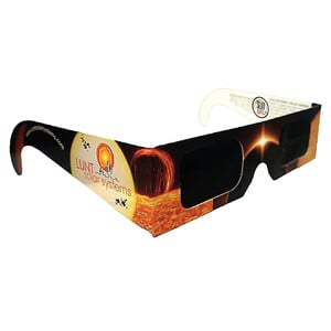 Lunt Solar Systems SunSafe solar eclipse viewing glasses, 5 pairs