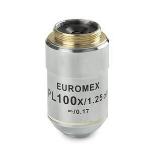 Euromex Obiettivo AE.3114, S100x/1.25, w.d. 0,18 mm, PL IOS infinity, plan (Oxion)