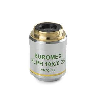 Euromex Obiettivo AE.3126, 10x/0.25, w.d. 12,1 mm, PLPH IOS infinity, plan, phase (Oxion)