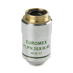 Euromex Obiettivo AE.3128, 20x/0.40, w.d. 1,5 mm, PLPH IOS infinity, plan, phase (Oxion)