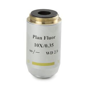 Euromex Obiettivo 86.552, 10x/0,30, w.d. 15 mm, PL-FL IOS , plan, fluarex (Oxion)
