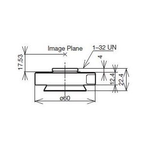 Olympus Adattore Fotocamera U-TV0.35XC-2-7 C-Mount adattatore camera
