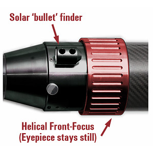 Télescope solaire DayStar ST 60/930 SolarScout Carbon H-Alpha Chromosphäre OTA