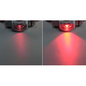 Vixen Lampada frontale a luce rossa e bianca SG-L01