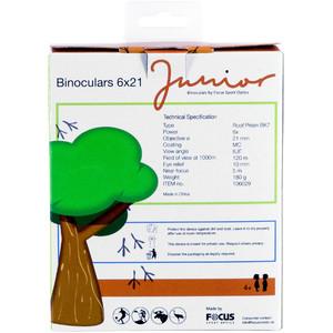 FOCUS Binocolo per bambini 6x21 Junior