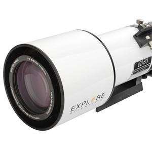 Explore Scientific Refractor apocromático AP 80/480 ED FCD-100 Hexafoc OTA