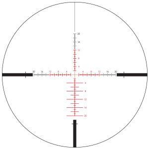 Lunette de visée Vortex Viper PST Gen II 5-25x50 EBR-4 MOA