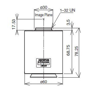 Olympus Adaptador para cámaras U-TV0.63XC-1-8, C-Mount