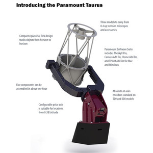 Monture Software Bisque Paramount Taurus 400