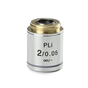 Euromex Obiettivo IS.7202, 2x/0.6, wd = 20,2 mm, PLi , plan, infinity (iScope)