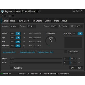PegasusAstro Ultimate Powerbox Hub