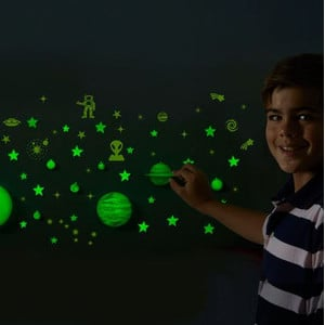 Learning Resources GeoSafari® Glow-in-the-Dark pianeti e stelle