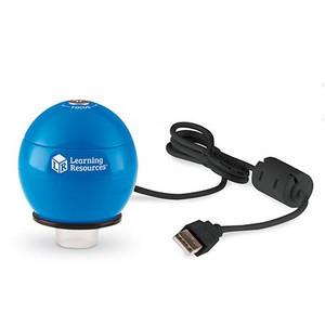 Learning Resources Microscope de poche numérique Zoomy 2.0 (bleu)