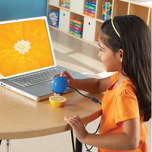 Learning Resources Zoomy 2.0 microscopio portatile digitale (blu)