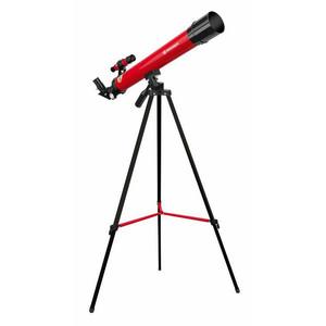 Bresser Junior Telescopio AC 45/600 AZ rosso