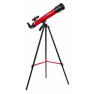 Télescope Bresser Junior 50/600 AZ rouge