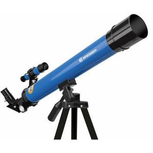 Bresser Junior Telescopio AC 45/600 AZ blu
