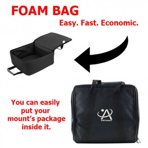 Artesky Bolso de transporte Foam Bag iOptron GEM45