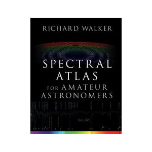 Livre Cambridge University Press Spectral Atlas for Amateur Astronomers