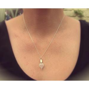Jurassic Jewellery collier poussière de Lune (pendentif forme de goutte)