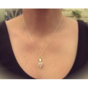 Jurassic Jewellery Mars Dust Necklace (Teardrop)