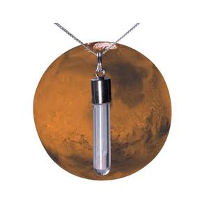 Jurassic Jewellery collier poussière de Mars (pendentif fiole)