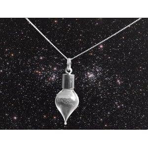 Jurassic Jewellery collana polvere di meteorite (a goccia)