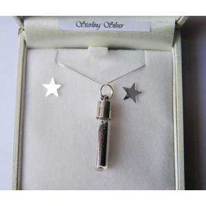 Jurassic Jewellery Cadena de polvo de meteorito de (vial)