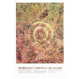Poster The Twin Light Echoes Of Supernova 1987A