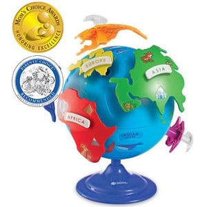 Learning Resources puzzle mappamondo 20cm