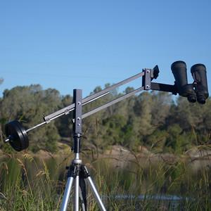 Farpoint Montierung Universal Binocular Mount UBM mit Fernglashalterung Far-Sight