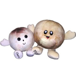 Celestial Buddies Pluto and Charon